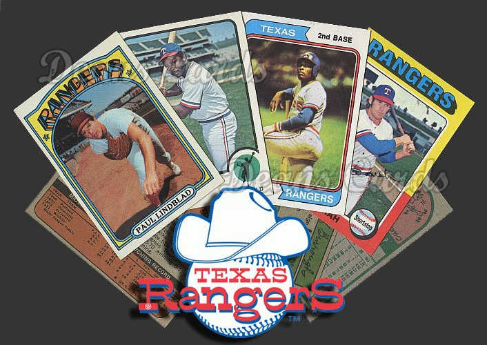 1972 Topps  -75  Texas Rangers 40 Card Team Starter Set / Lot
